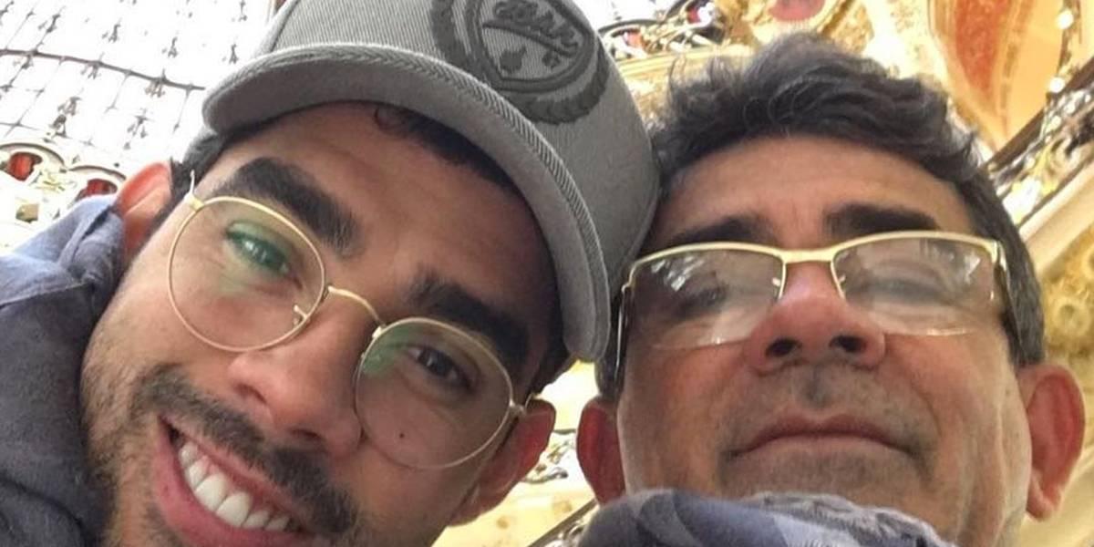 Pai de Gabriel Diniz faz desabafo na web: 'Minha joia partiu, meu corpo dilacerou'