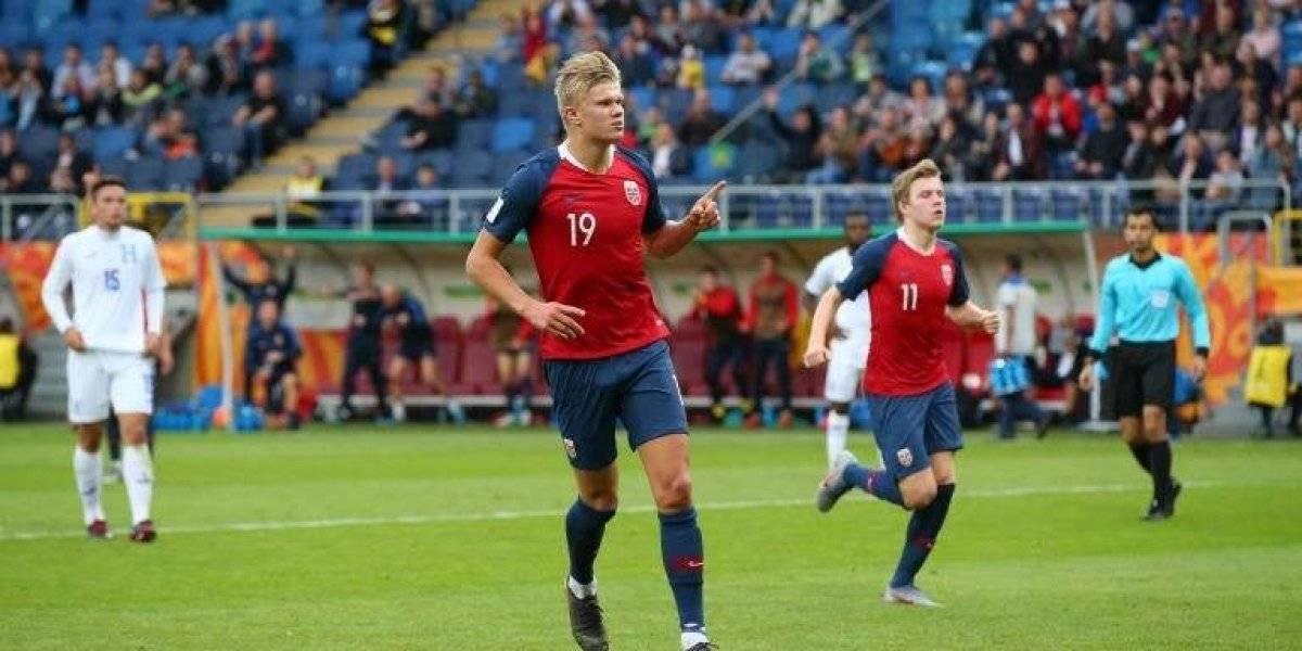 Mundial Sub 20: delantero noruego marca nueve goles en un partido