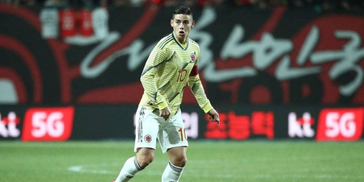 Colombia entregó su nómina para Copa América con Maluma presentando a James Rodríguez