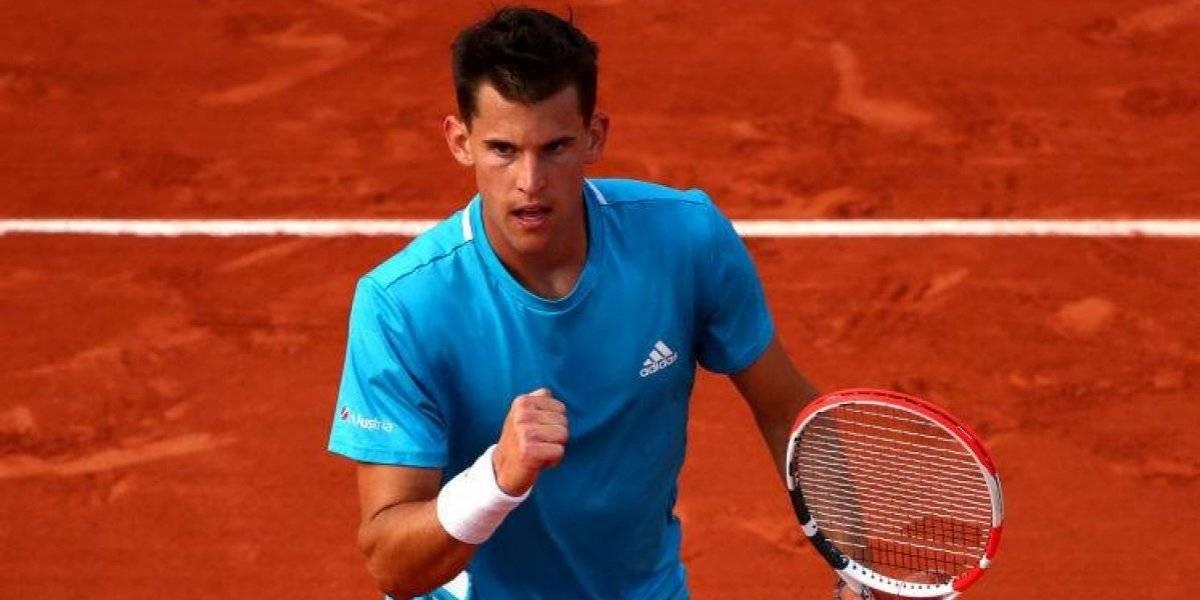Thiem, Djokovic y Del Potro siguen ganando en Roland Garros que ya no tiene chilenos