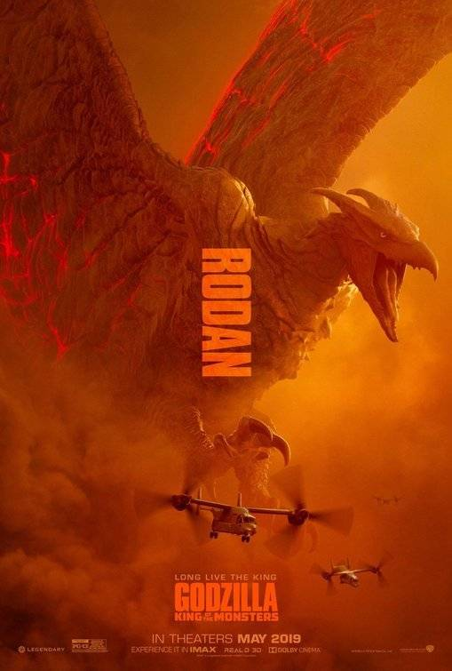 ... Rodan, um tipo de pterodáctilo gigante Divulgação