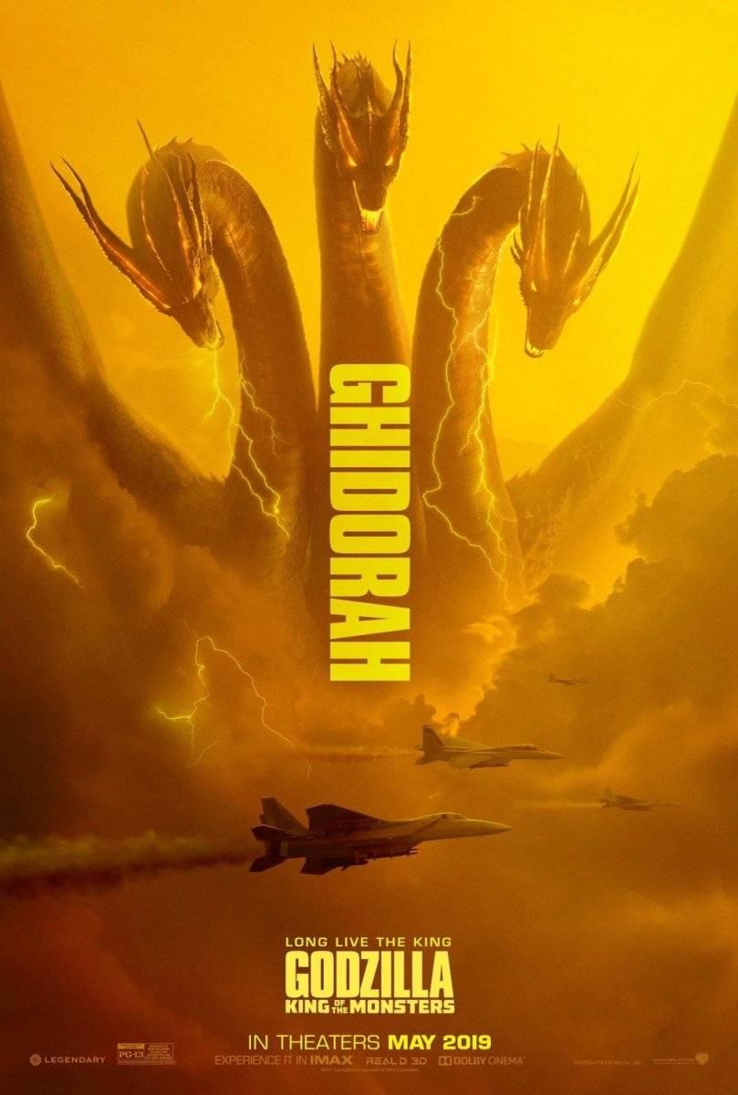 ... Ghidorah, um dragão de três cabeças tido como rei dos kaijus Divulgação