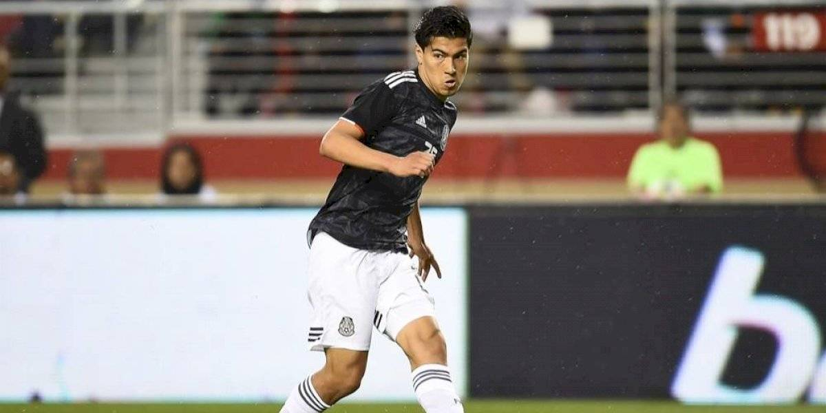 ¡Una baja más! Erick Gutiérrez sufre fractura y se pierde juego ante Argentina