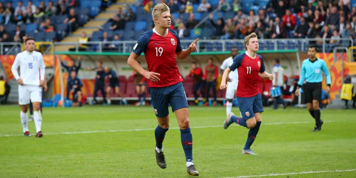 Noruega destroza 12-0 a Honduras en el Mundial Sub 20 con nueve tantos de su goleador