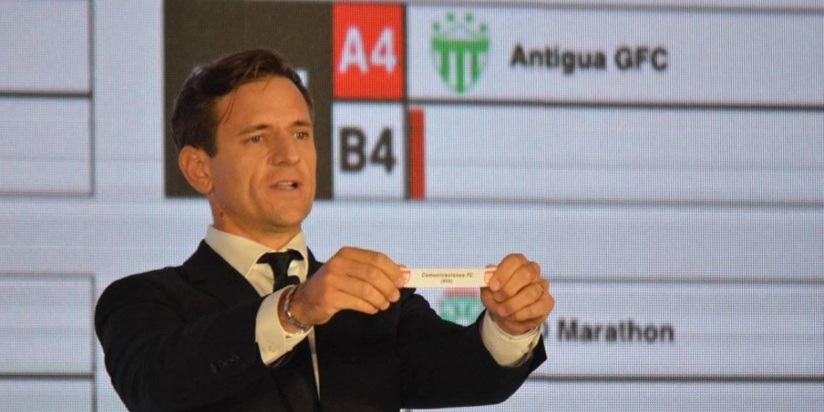 Estos son los rivales de los equipos guatemaltecos en la Liga Concacaf 2019