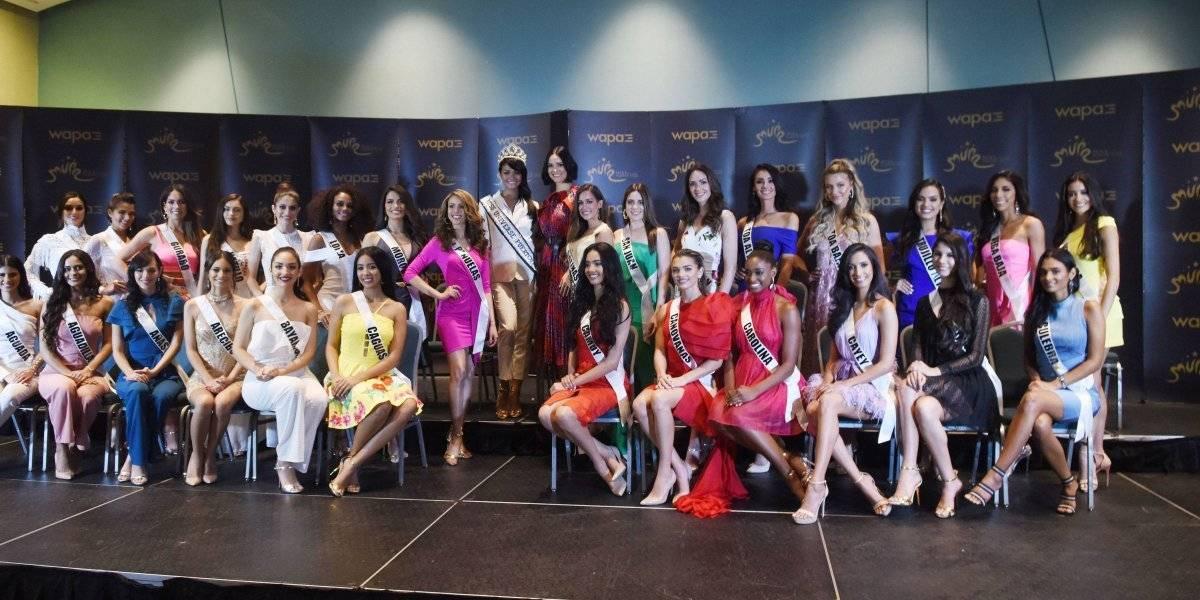 Sin experiencia, pero seguras hacia el título Miss Universe Puerto Rico 2019