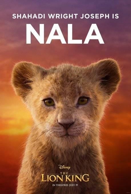 Nala filhote Rei Leão