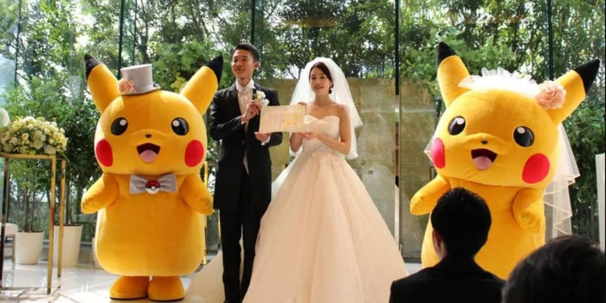 En Japón ya se realizan bodas con licencia oficial de Pokémon