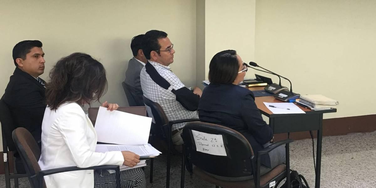 Presidente Morales busca reactivar proceso contra ciudadano que lo insultó