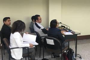audiencia del presidente Jimmy Morales