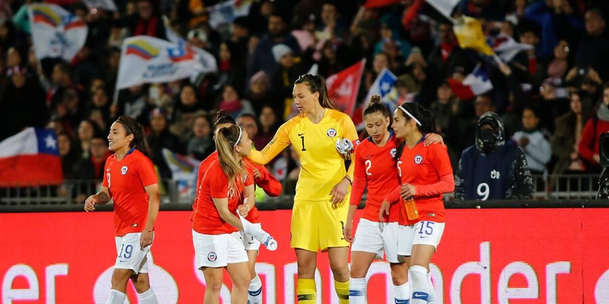 Así vivimos la derrota de la Roja femenina ante Alemania en el cierre de su preparación para el Mundial