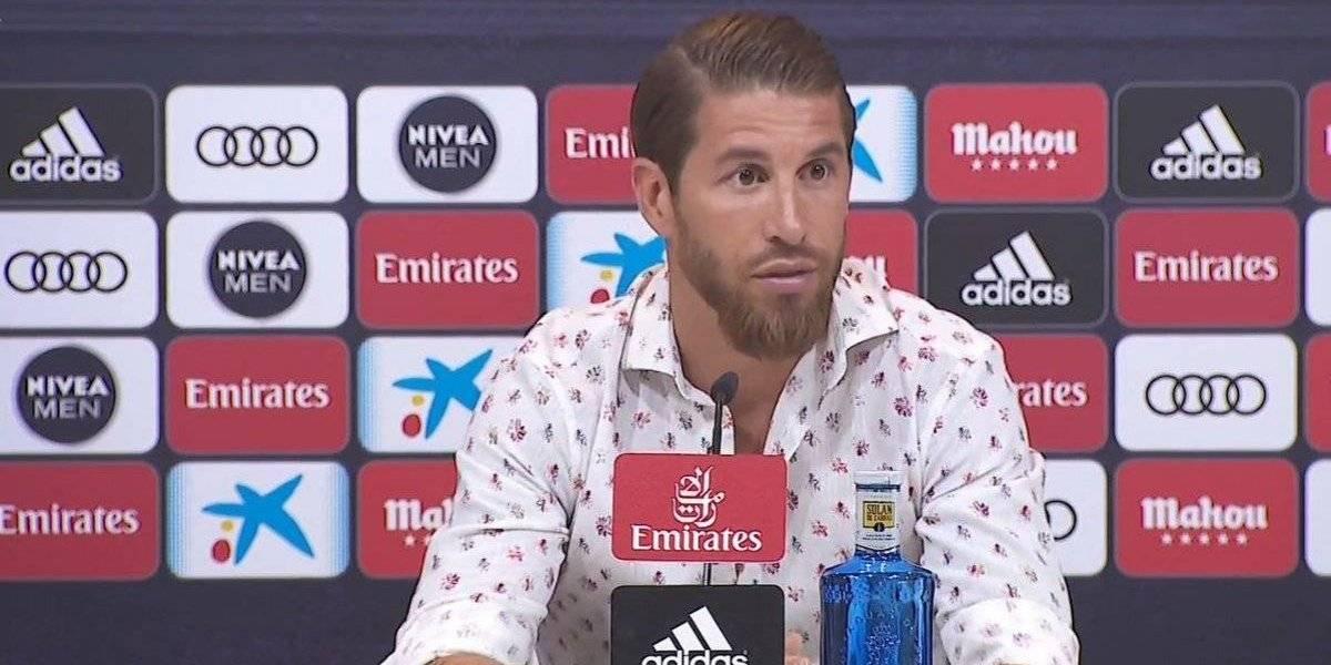 Sergio Ramos corta su propia teleserie y anuncia su continuidad en Real Madrid