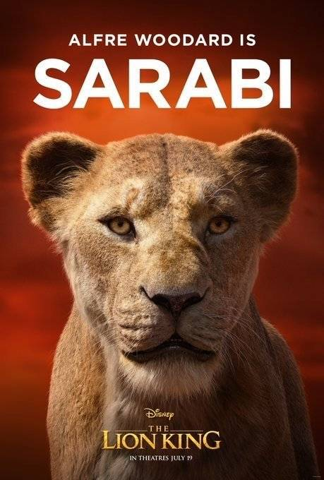 Sarabi Rei Leão
