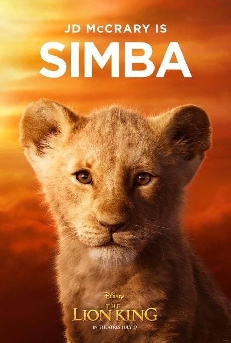 Simba filhote Rei Leão