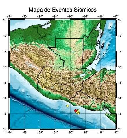 sismos en Guatemala el 30 de mayo 2019