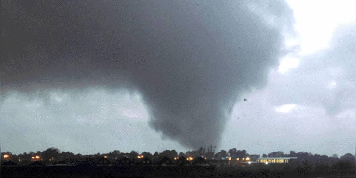 Vean las fotos y videos del tornado que afectó la ciudad de Los Ángeles en Chile