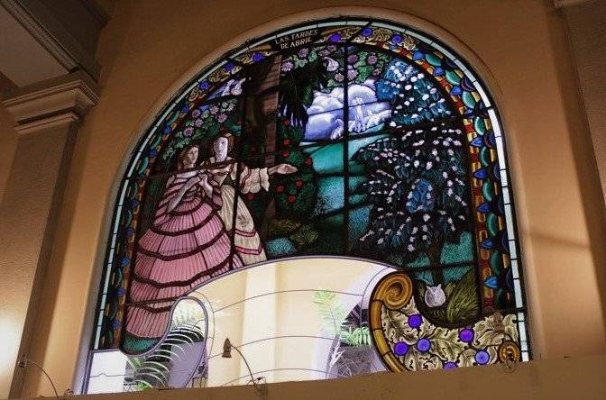 Vitrales del Palacio Nacional de la Cultura Guatemala