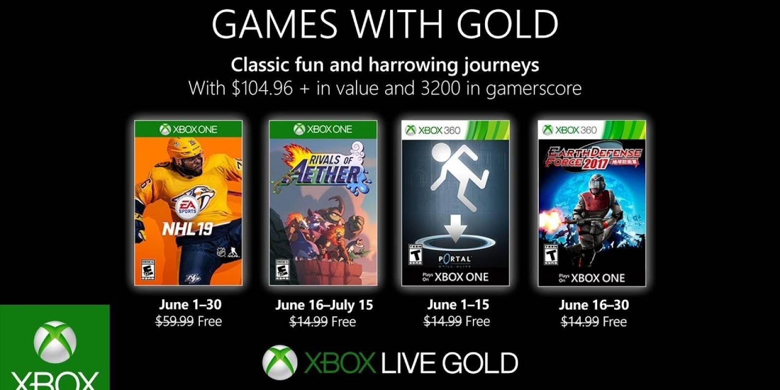 Xbox Estos Son Los Juegos Gratuitos De Games With Gold Para