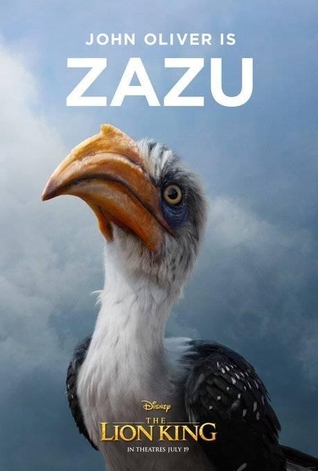 Zazu Rei Leão