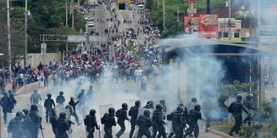 Honduras manifestación