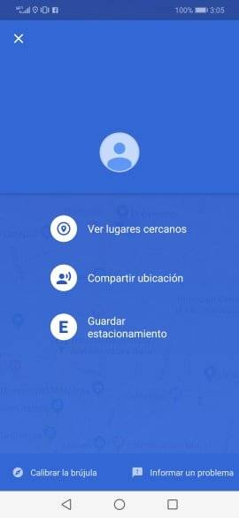 Google Maps Estacionamiento