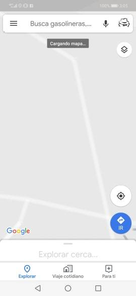 Google Maps Estacionamiento