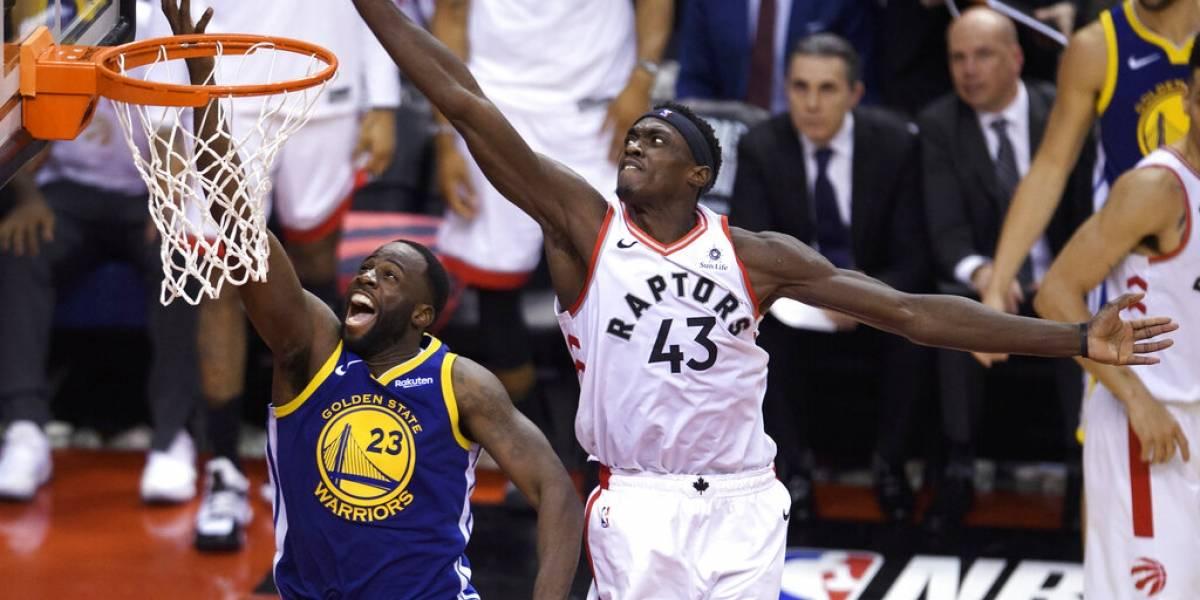 Raptors dan el primer golpe en la final de la NBA