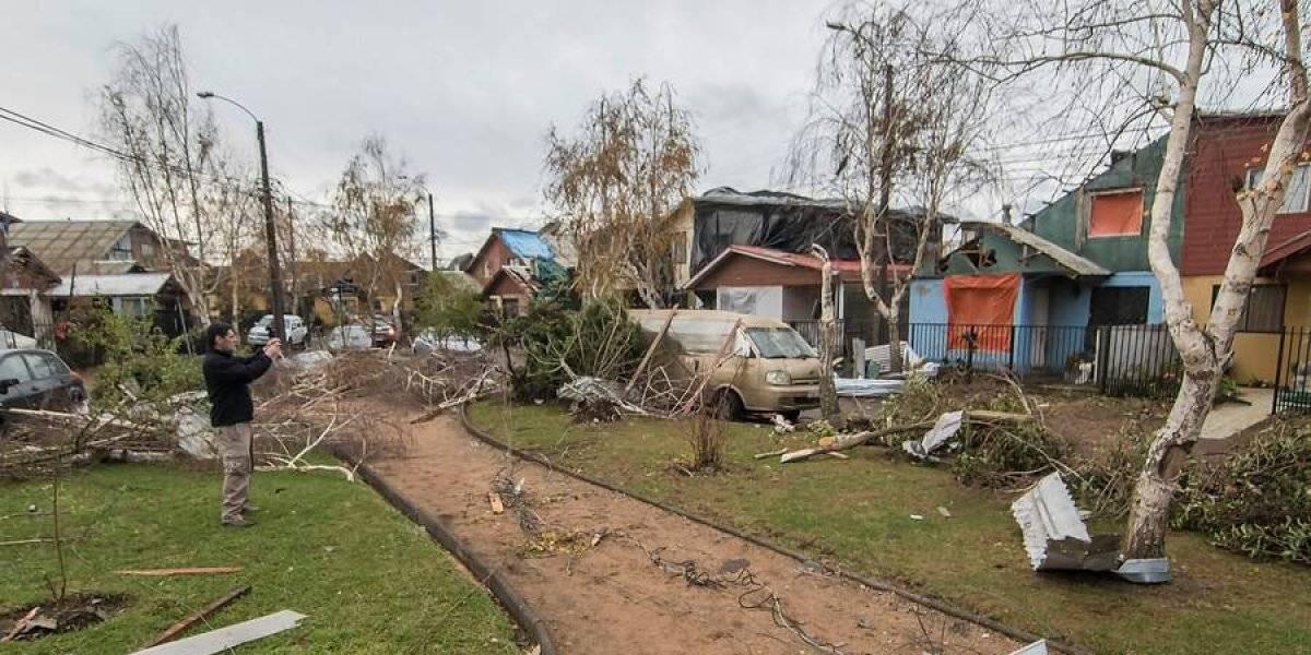 Tornado en Los Angeles: impactantes imágenes del día después del desastre