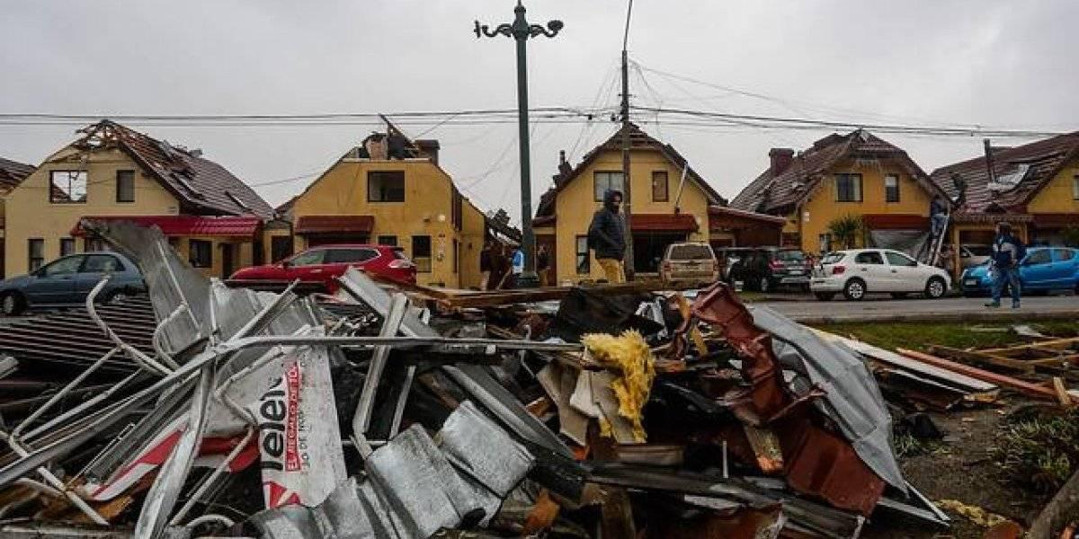 Balance oficial: 370 casas dañadas, 28 lesionados, una mujer fallecida y más de 24 mil clientes sin electricidad por fenómenos climáticos en el BioBío