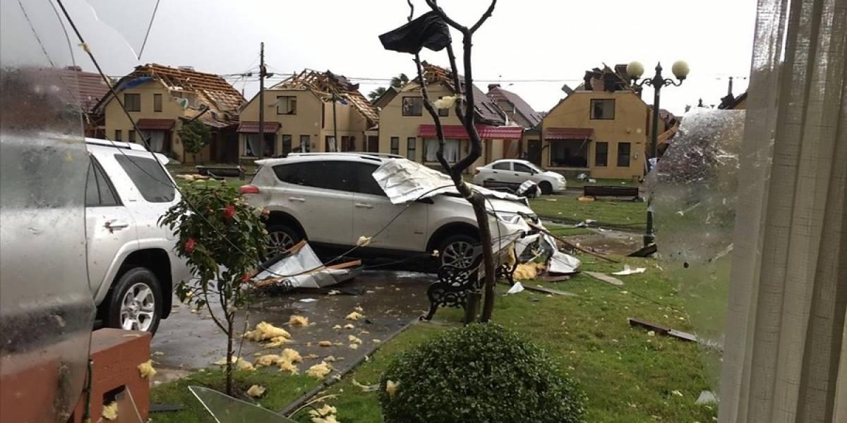 Meteorología alerta a la Región del Ñuble: tormenta llega a Chillán y afectará a varias comunas