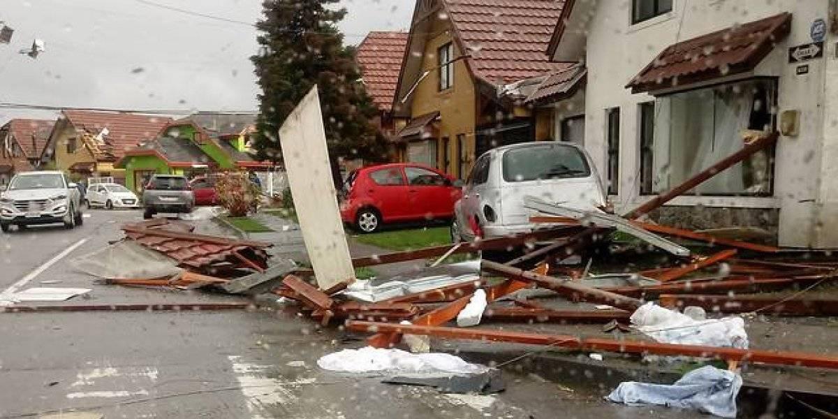 """""""Ni siquiera el terremoto de 2010 fue tan destructivo"""": el crudo relato de un chofer de Talcahuano que vivió la tromba marina"""