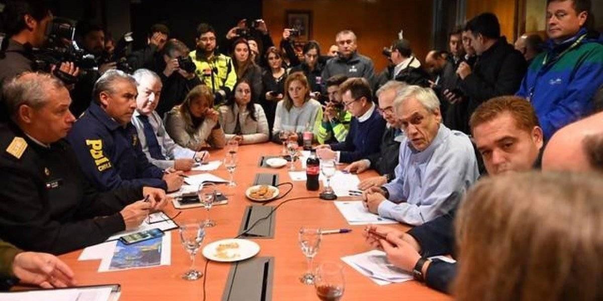 """Piñera por catástrofe en Concepción y Talcahuano: """"Estamos asegurando la tranquilidad y la seguridad para que no se repitan los tristes hechos del 27F"""""""