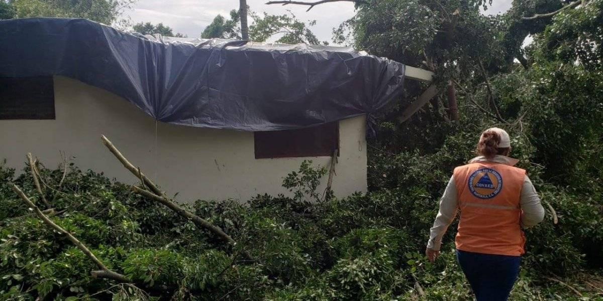 Conred registra más de 50 mil personas afectadas por condiciones climáticas