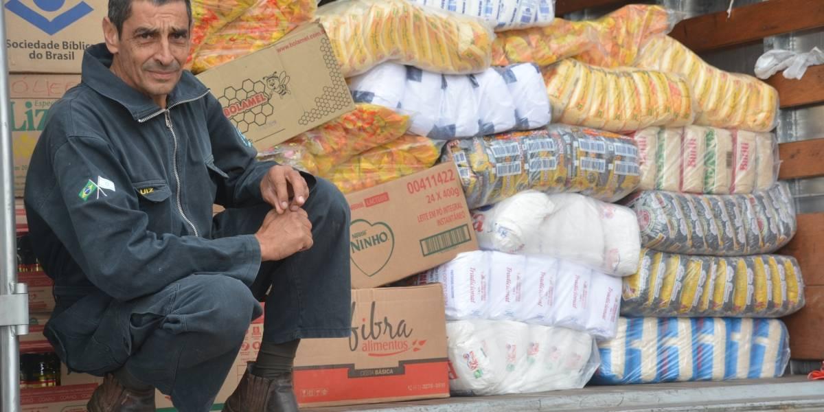 Gerente de loja no Paraná viaja à Roraima para levar alimentos a refugiados