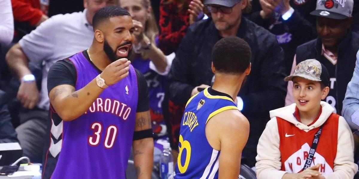 """""""¡Son una basura!"""", el insulto de Drake a los Warriors"""