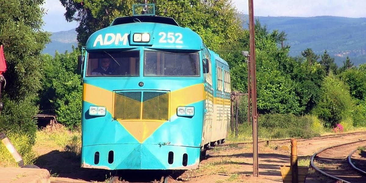 Tren perdido: ¿Cómo se extravió el buscarril que iba a Talca?