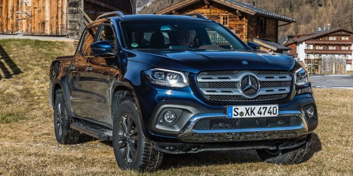 Mercedes-Benz le pone más poder a su Clase X con el modelo 350d