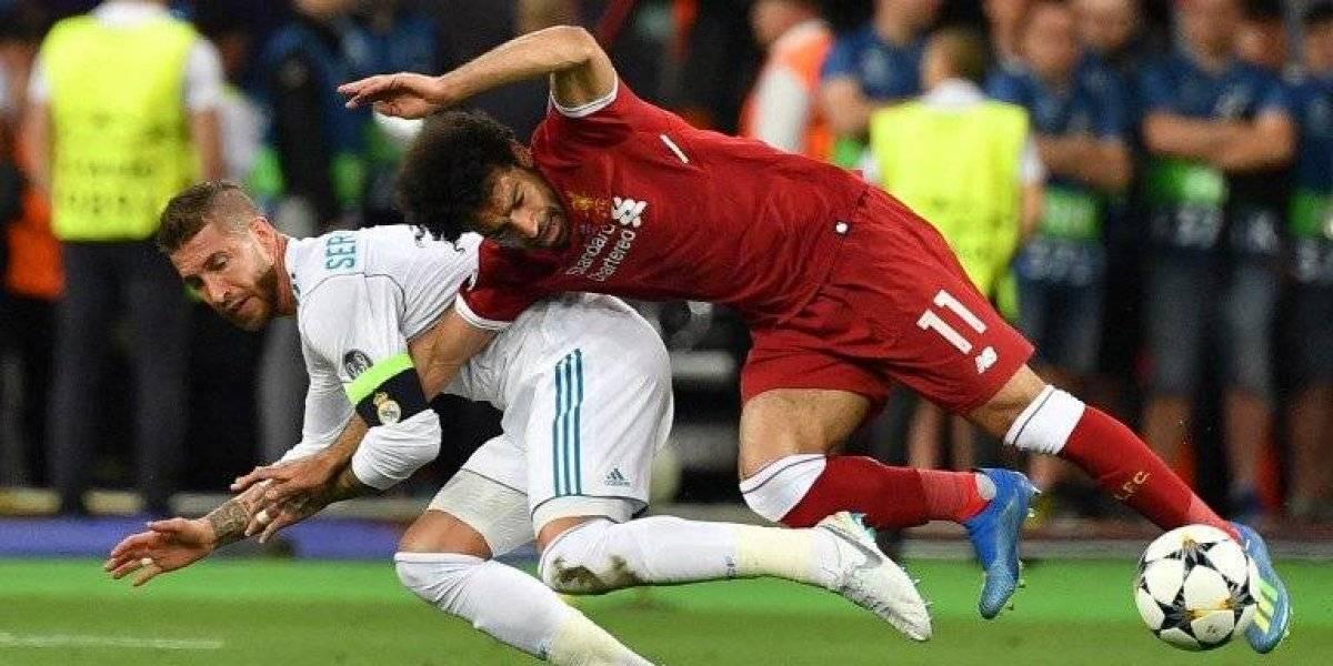 Mohamed Salah vive un momento incómodo