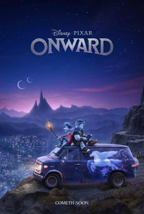 Onward de Pixar lanza su primer avance y póster oficial