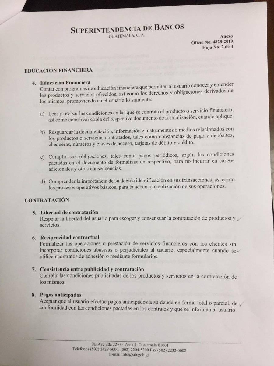 Propuesta de la SIB para mejorar el servicio de los bancos. Foto: Cortesía