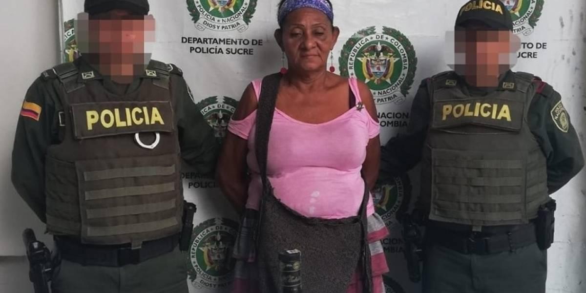 Capturan a una abuelita acusada de robarse una garrafa de licor