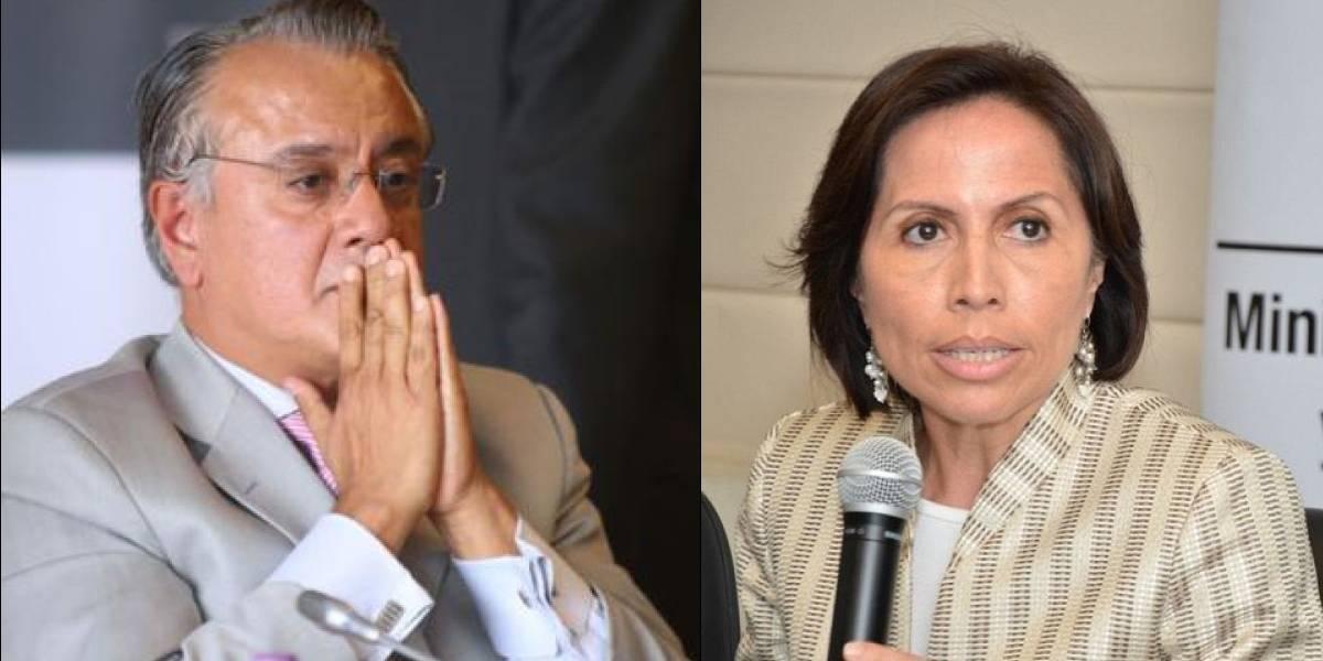Alexis Mera está detenido en la cárcel 4 de Quito y María de los Ángeles Duarte tiene grillete electrónico