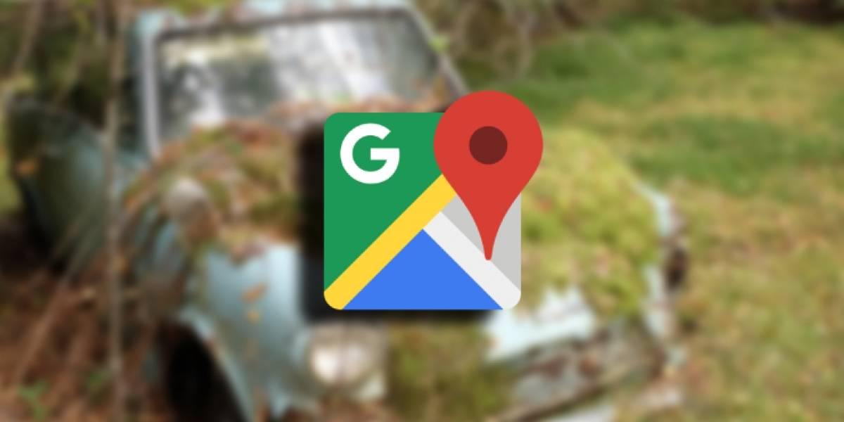 Ya no volverás a perder tu automóvil gracias a Google Maps
