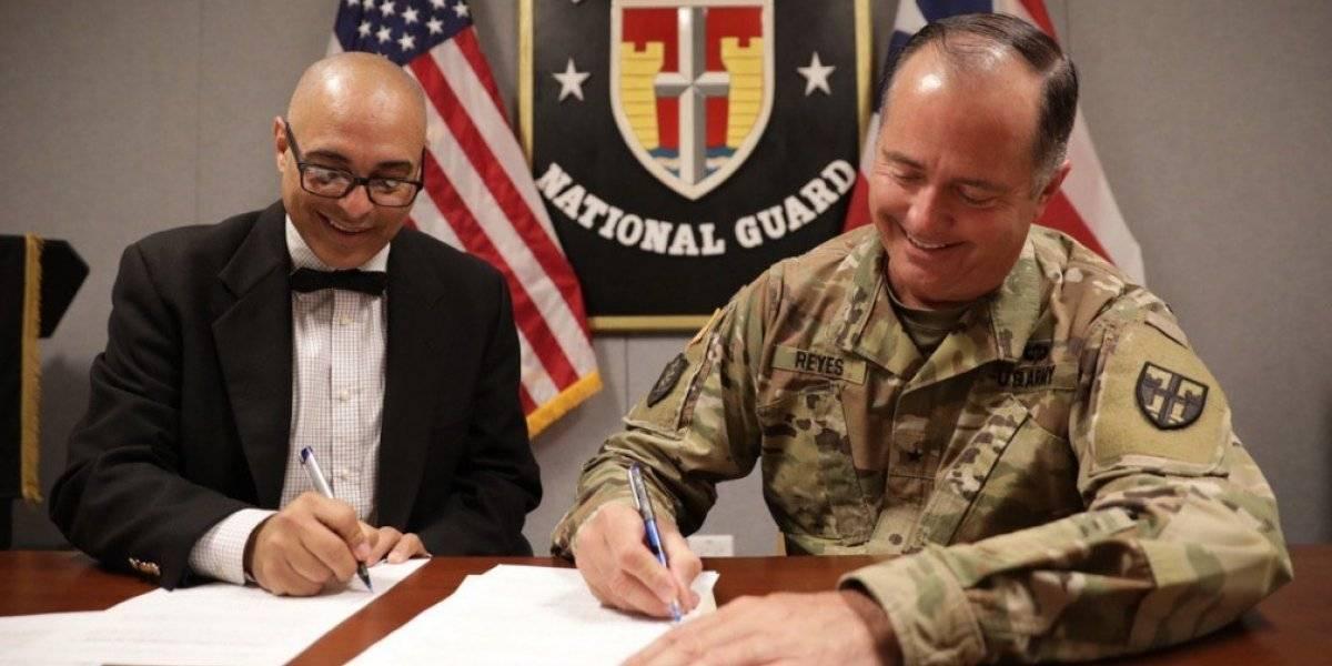 Educación y Guardia Nacional acuerdan trabajar en mejoramiento de escuelas
