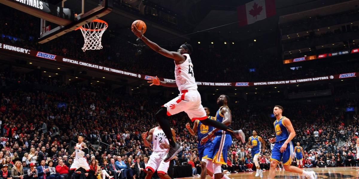 Toronto golpea primero ante Golden State y se pone arriba en las Finales de la NBA