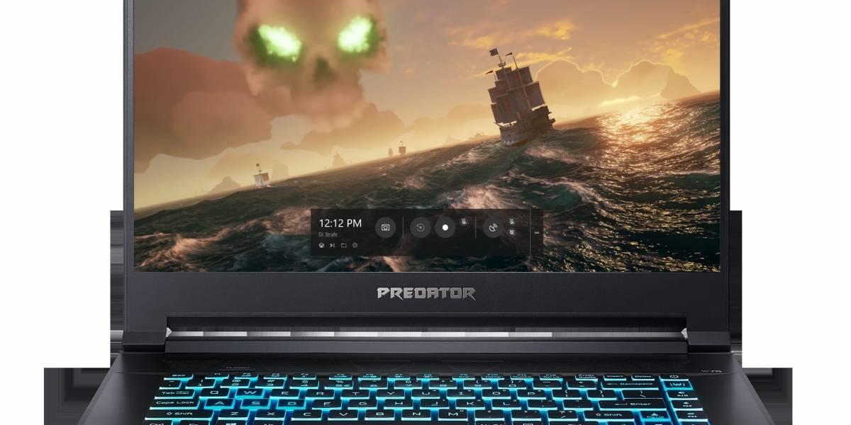 Triton 500: Todo el poder de Predator, tamaño notebook