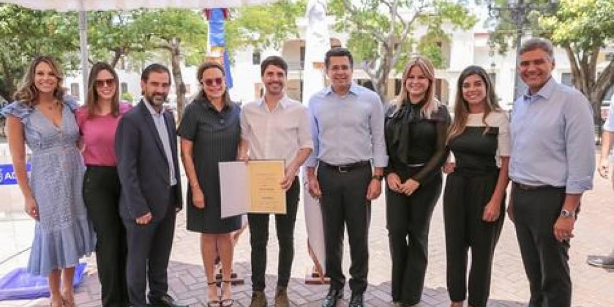 #TeVimosEn: Alcaldía del Distrito Nacional reconoce al chef Virgilio Martínez