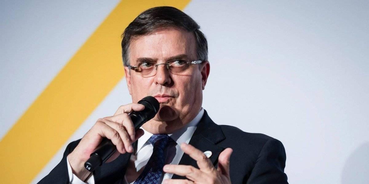 Ebrard ve avance en diálogo con EU sobre migración