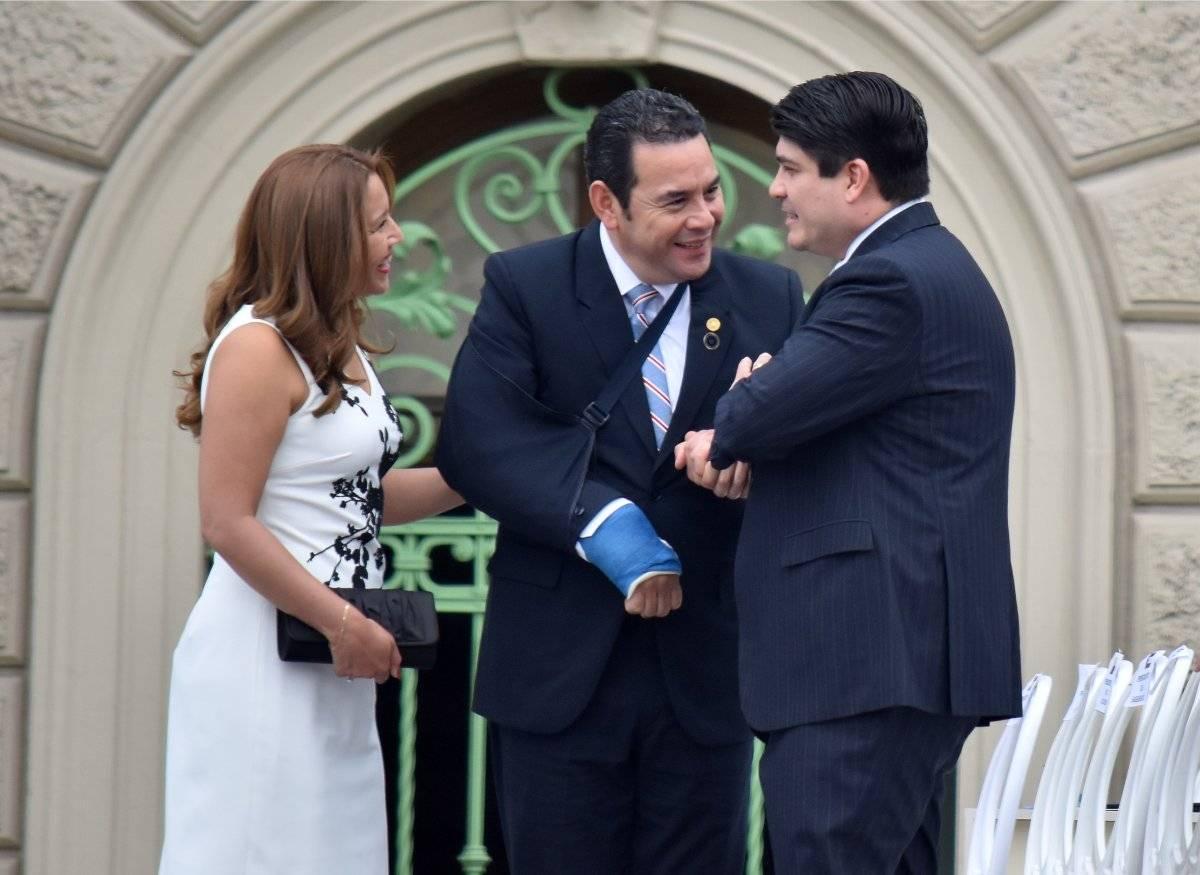 Jimmy Morales en El Salvador
