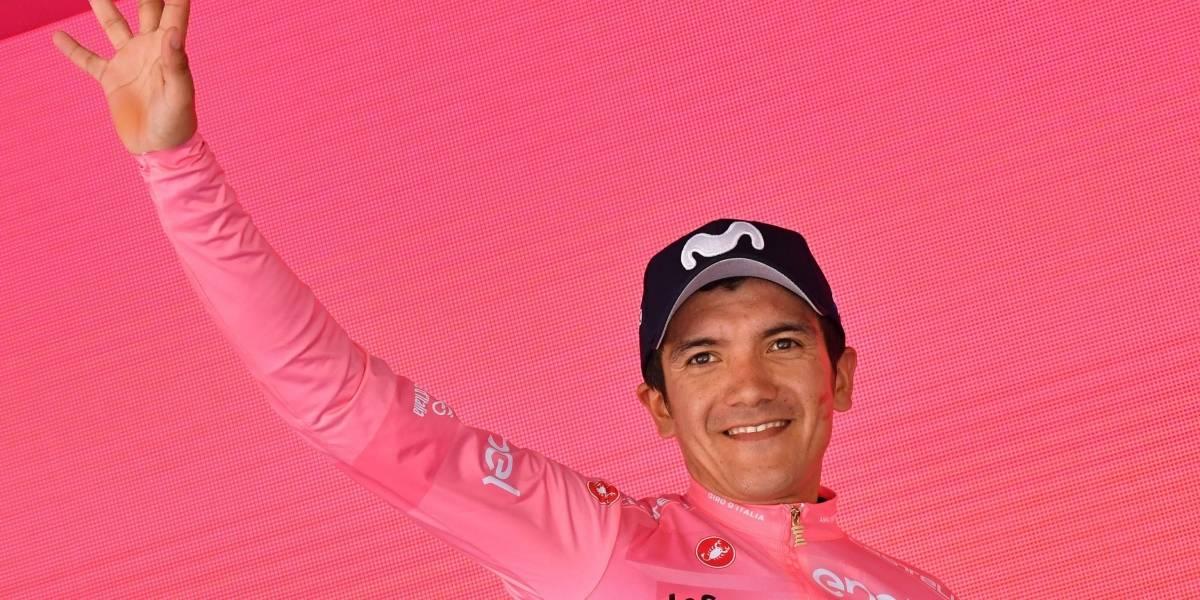 Presidente Lenín Moreno pide apoyar a Richard Carapaz en la final del Giro de Italia